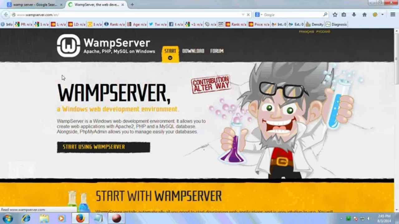How to Download and Install WampServer on Windows 7( 32bit and 64bit)