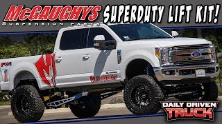 "Video McGaughys 9"" Lift on a 2017 F250 SuperDuty - SOTA Offroad wheels & 38"" tires download MP3, 3GP, MP4, WEBM, AVI, FLV Agustus 2018"