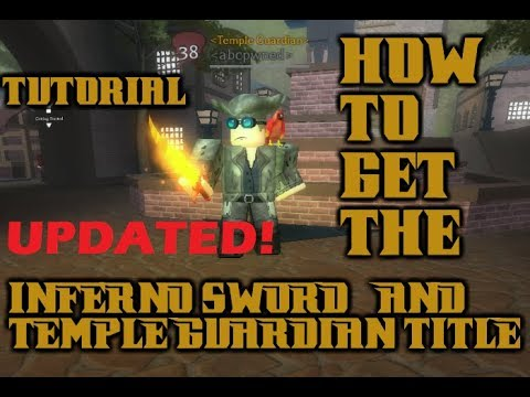 *UPDATED* How to Get INFERNO SWORD & Title In A Pirate's Tale! EVERY GEM LOCATION!