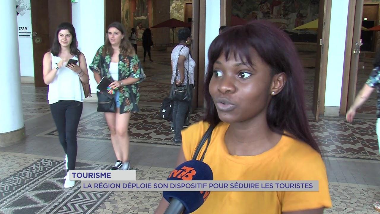 Tourisme : la région déploie son dispositif pour séduire les touristes