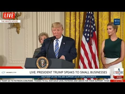 President Trump, Ivanka Participate in an Event with Small Businesses 8/1/17