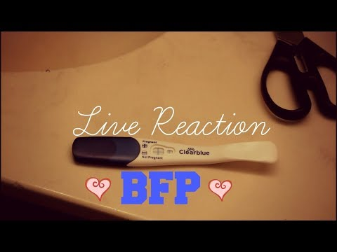 Getting a BFP|Live Pregnancy Test| My Announcement!