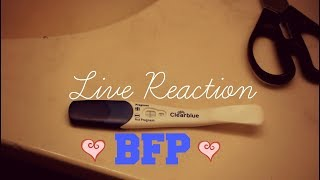 Getting a BFPLive Pregnancy Test My Announcement