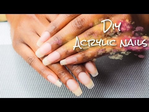 How To Acrylic Overlay On Natural Nails With Asp Nail Forms Simplysubrena