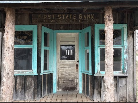 George Spankmeister - The Smallest Bank in Missouri.