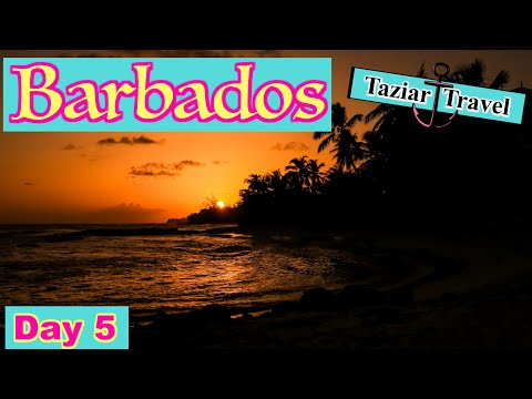 Barbados Travel Vlog Day 5 - 2018