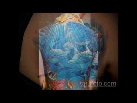 фото тату дельфин - информация и рисунки для тату