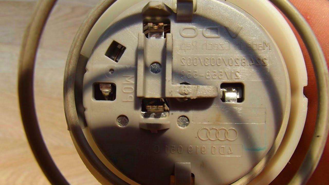 Как починить датчик ф125 на ауди 6 видео 30