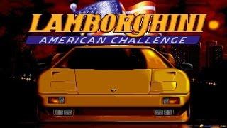 Lamborghini - American Challenge gameplay (PC Game, 1992)