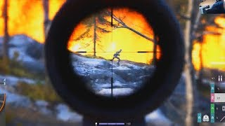 Battlefield 5 FIRESTORM: SOLO WIN with SNIPER and V1 ROCKET
