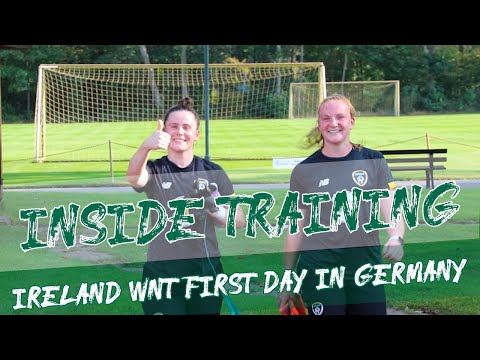 INSIDE TRAINING | #IRLWNT First Day in Germany