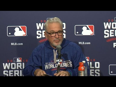 WS2016 Gm4: Maddon discusses Game 4 loss, 3-1 deficit