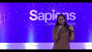 An Inspirational talk by Dr Geeta Bora, Founder of Spherule Foundation at Sapiens Talk.