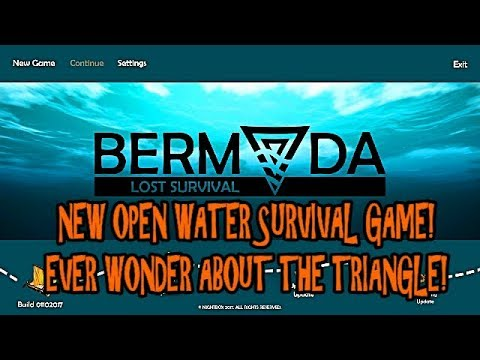 Bermuda Lost Survival - New Water Survival Game! My New Addiction?!?!