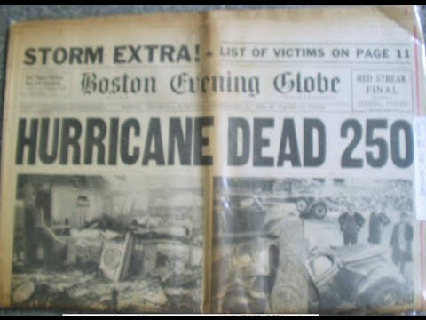 Violent Earth: New England's Killer Hurricane of 1938 - Hist
