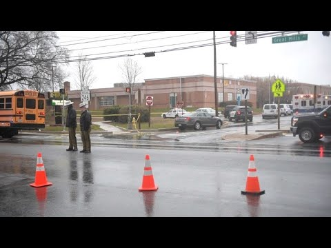 Police secure scene at Maryland high school after shooting