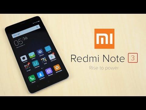 [Review] Xiaomi Redmi Note 3 คุ้มๆระดับ 5 พัน ยากจะหาใครเทียบ
