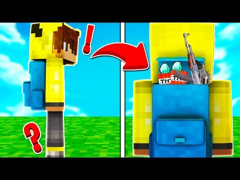 ISMETRG'NİN ÇANTASINDA NELER VAR? 😱 - Minecraft thumbnail
