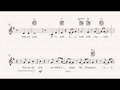 5.6 MB) It Is Well With My Soul Lyrics And Chords - Free Download MP3