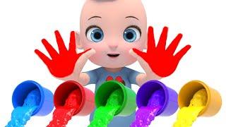 Learn Color with Baby Shark Song  어떤 색깔로 변할까요? 알록달록 컬러송 영어동요 Nursery rhymes 라임이와 영어 공부 해요!