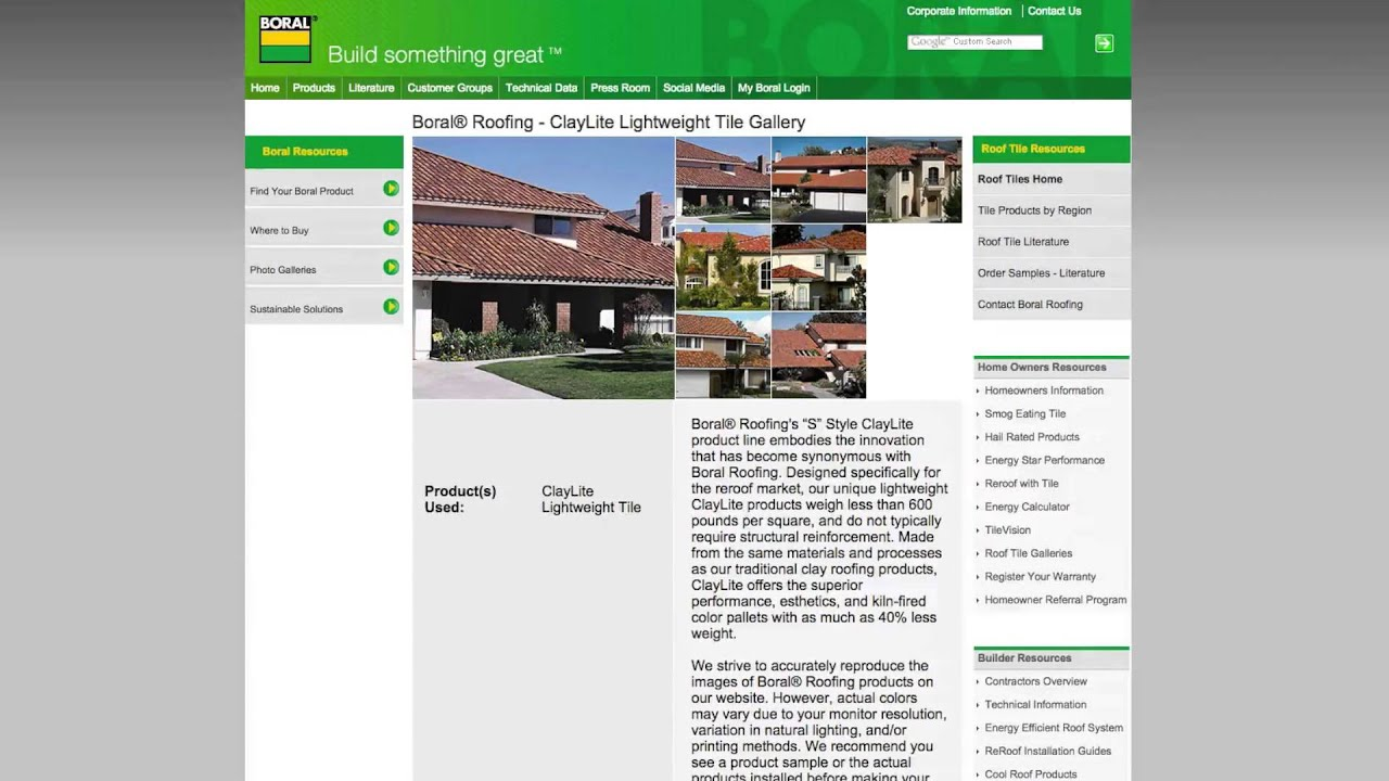 Boral Roofing Specwizard For Roof Tile Youtube