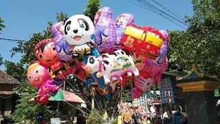 BALON TERBANG, BALON KARAKTER MASHA, PANDA, TAYO, UPIN&IPIN, BOBOIBOY - TOYS BALLOONS CHARACTER