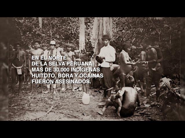 Pueblos indígenas  De la época del caucho a la actualidad
