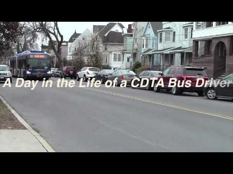 A Day in the Life of a CDTA Bus Driver
