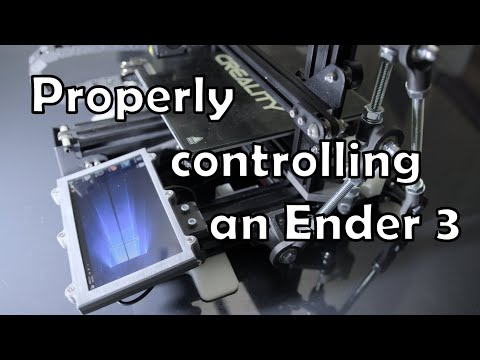Properly Controlling An Ender 3 Pro With A LattePanda Print Server
