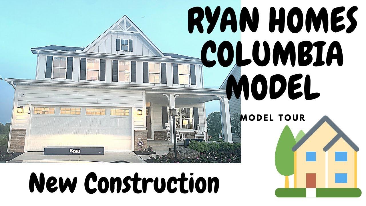 Ryan Homes Columbia Model Walkthrough Youtube