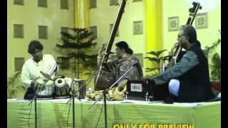 pandit gobinda bose with bidushi sipra bose & pandit sohon lal sharma