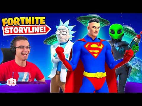 The Fortnite Storyline so far!