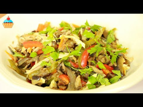 Теплый салат в