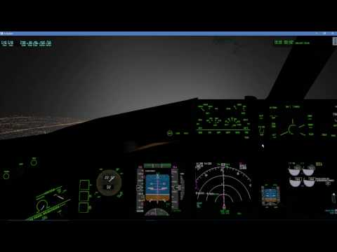 X-Plane 11   FlightFactor B777-300ER   Sao Paulo - Ezeiza (Bird Strike lost both engines)