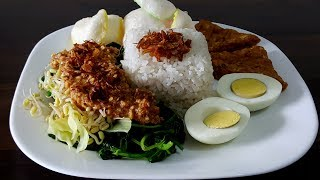 Nasi Pecel Sayur Enak dan Sederhana | Bunda Fika