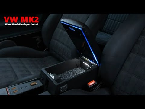 How To Build A Car Custom Center Console Armrest Storage