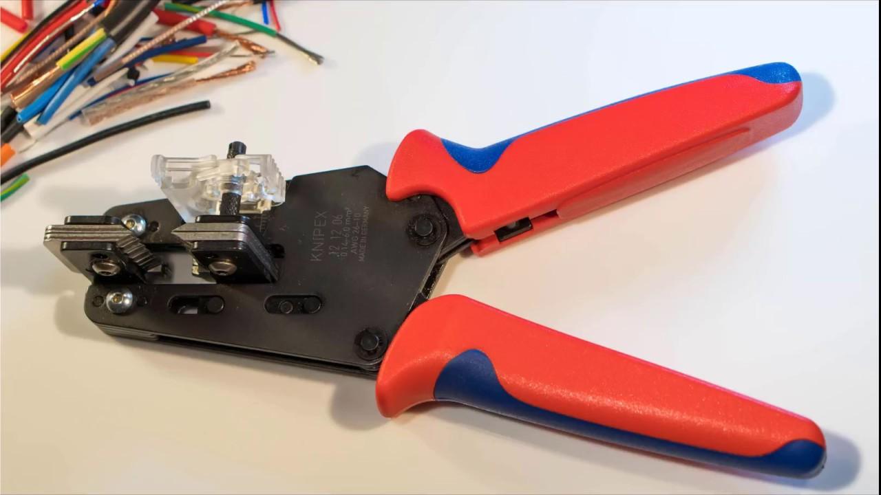 Knipex Wire Stripper Review - Precision Insulation Stripper - YouTube