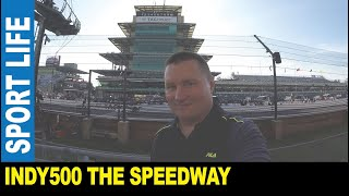 Indianapolis 500 [Part 1] The Motor Speedway 2.5 mile track GoPro hot spots by Jarek Indiana USA