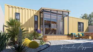 Shipping Container House - Tiny House - Two Bedrooms