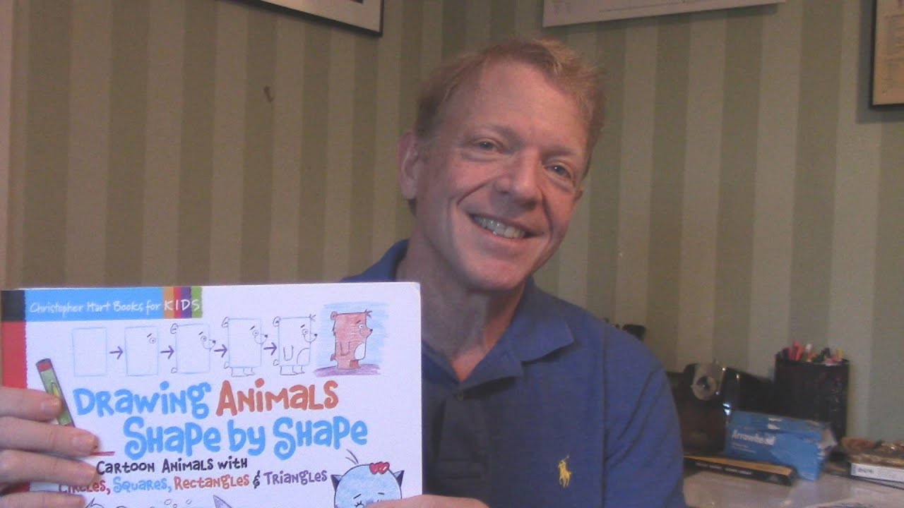 How To Draw Animals From Simple Shapes Book Preview Youtube
