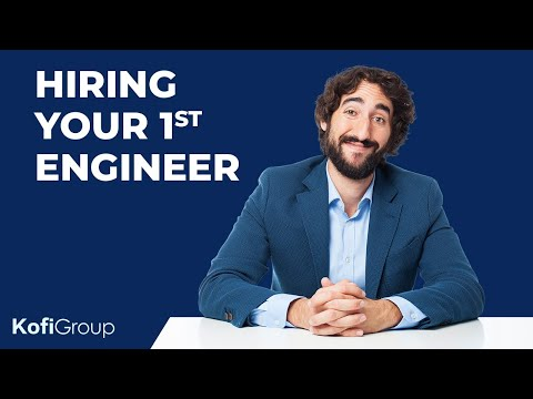 How to Hire Your First Engineer as a Startup Founder (hiring technical cofounder/founding engineer)