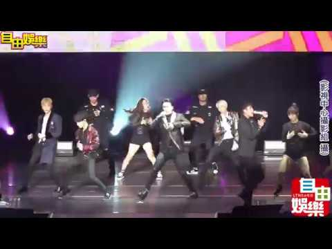 HIGHLIGHT演唱會 尹斗俊不慎摔下舞台