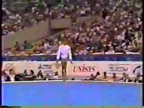 Betty Okino - 1991 Worlds AA - Floor Exercise streaming vf