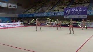 сборная России по художественной гимнастики показательные выступления