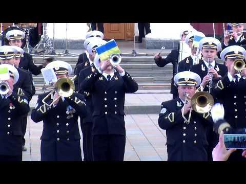 Оркестр Центра военно-музыкального искусства ВМС - Фестиваль духовых оркестров Одесса 2018.04