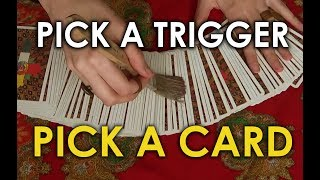 [ASMR] INTERACTIVE READING - Pick A Card with ASMR Triggers