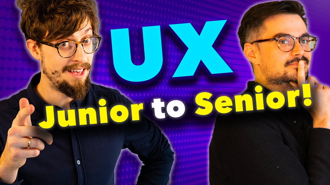 Ux Design Careers How To Get From Junior To Senior Youtube