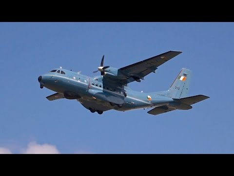 CASA CN-235M-100 Irish Air Corps departure at RIAT 2016 AirShow