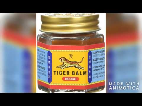 My Experience With Tiger Balm تجربتي مع ابو فاس Youtube