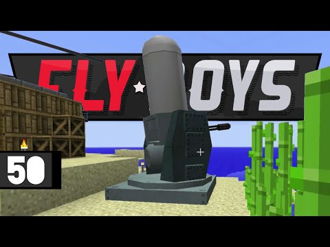 Minecraft FLYBOYS! Coastal Defense • E50